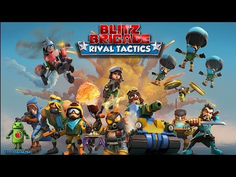 BLITZ BRIGADE : RIVAL TACTICS ( iOS / Android ) Gameplay - By GAMELOFT
