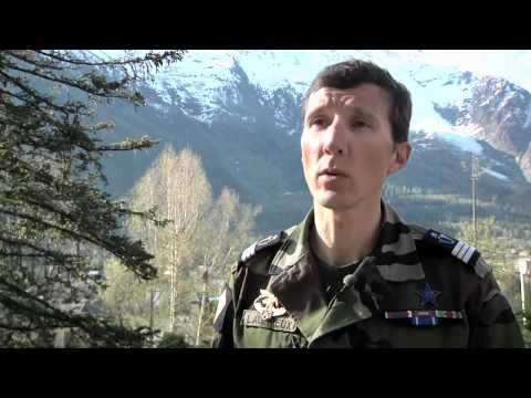 Le groupe militaire de haute montagne et les commandos montagne en expédition au Groenland - mai 20