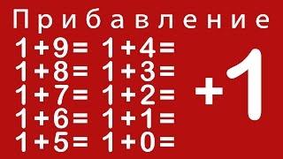 Учимся прибавлять цифру 1. Урок 2. Мультики для самых маленьких.