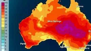Аномальная жара в Австралии.Что произошло на нашей Планете. Что произошло в мире.