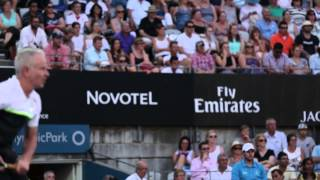 McEnroe and Rafter Magic at the 2015 Apia International Syndey