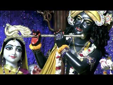 08.11.2017 Mangal Aarti Darshan Of Sri Dham Mayapur