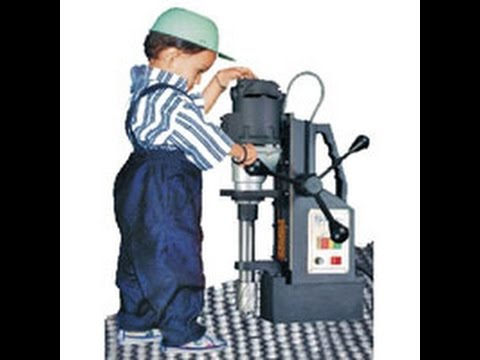 Magnetic Drill Malaysia Bench Drill Press Magnet Lubang Besi