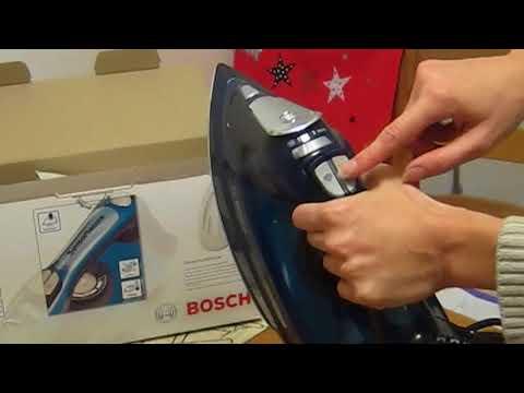 Обзор утюга BOSCH Sensixx'x DA70 / БОШ Сенсикс ДА 70