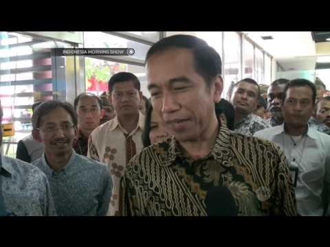 Kepulangan Jokowi dari Singapura, Presiden naik pesawat Ekonomi - IMS