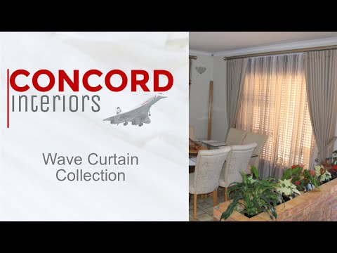 Concord Interiors Wave Curtain Collection