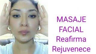 Masaje para la Cara / Arrugas Flacidez ~ Bolsas en los ojos ~REAFIRMANTE
