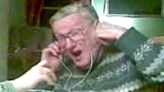 Grandpa Gets an IPOD for X-Mas