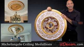 Michelangelo Ceiling Medallions