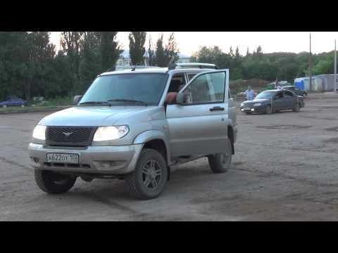 Испытания тормозной системы УАЗ Патриот ЗМЗ51432 с новой лопаткой вакуумного насоса