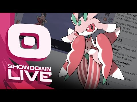 Pokemon Sun and Moon! Showdown Live: Enter Lurantis - Lurantis Showcase!