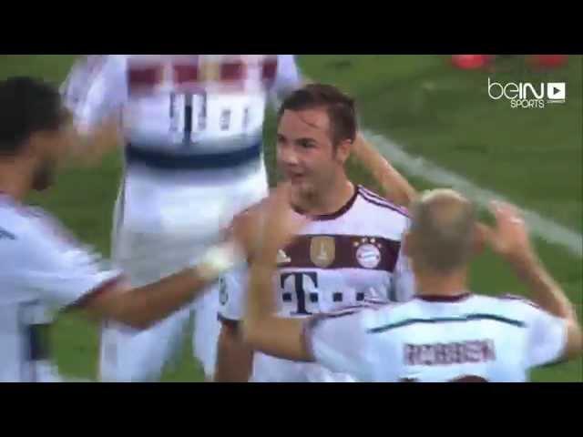 أهداف مباراة بايرن ميونخ وروما 7-1