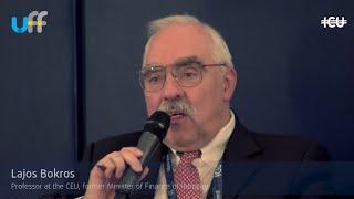 #UkrFinForum18 - Lajos Bokros speech, WILL POLITICS PREVENT PROGRESS? THE POLICY MAKERS VIEW panel