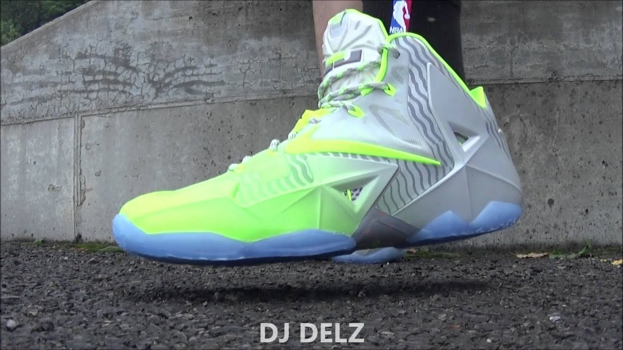 Nike LeBron 11 Maison Du LeBron Sneaker Review + On Foot With Dj Delz -  YouTube