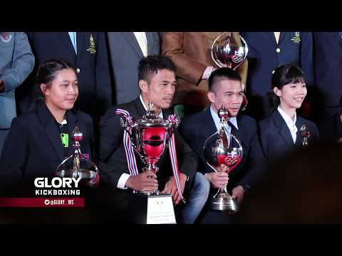 Sitthichai receives Thailand Sports Writing Association Award following GLORY 53 win