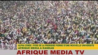 ALPHA CONDE CELEBRE PAR LA JEUNESSE DE GUINEE CONAKRY (KANKAN)
