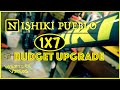 Nishiki Pueblo Budget MTB 1X7 Conversion, Neco Bottom Bracket Upgrade, Grips, and Shifter Upgrade.
