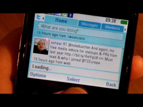 Inq Chat 3G Mobile Phone OS/UI Walkthrough