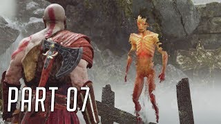 God of War (Hard) 100% Walkthrough 07 (Shores of Nine)