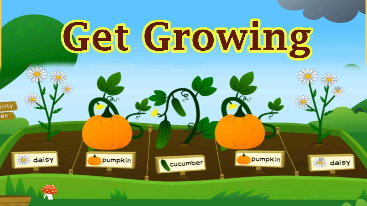 Growing Plants & Vegetables Funny Video For Children ...