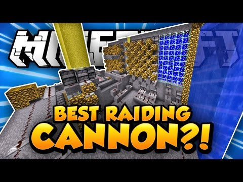 BEST RAIDING CANNON?! - Minecraft FACTIONS #12 - Cosmic S1