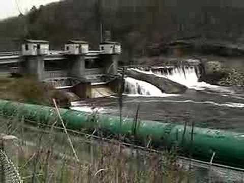 RAW VIDEO: Pompton Lake Dam