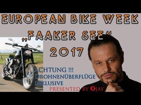 European Bike Week 2017   Drohnenflug Faak am See Harley Davidson // Droneflight