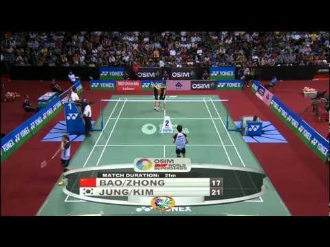 F - WD - Jung K.E./Kim H.N. vs Bao Y./Zhong Q. - 2012 Yonex-Sunrise India Open