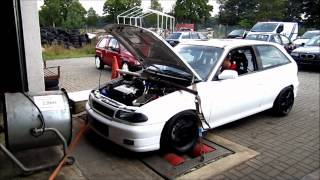 Astra F Turbo cct Phase 3 Leistungsmessung