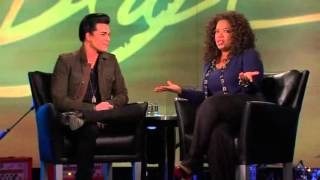 adam lambert goes shopping and soundcheck oprah winfrey show