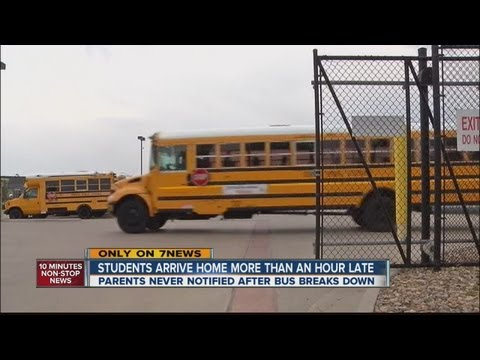 Dad upset after son's school bus hour-plus late