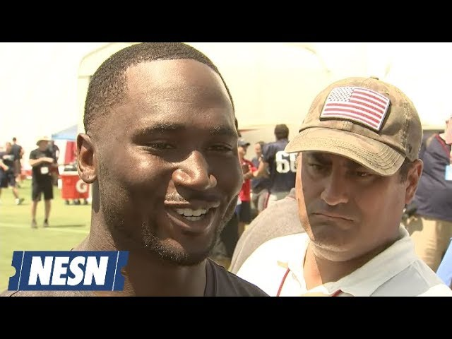 Dion Lewis Reflects On Time With Patriots, Friendship With Running Backs