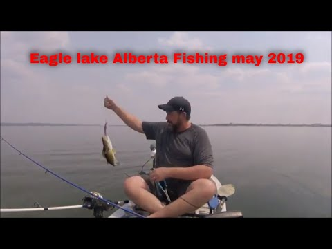 EAGLE LAKE ALBERTA FISHING MAY 2019
