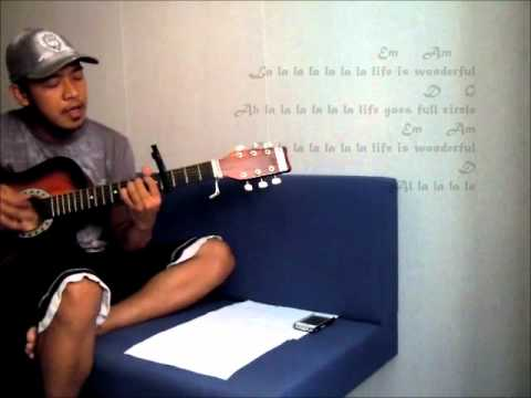 Life Is Wonderful By Jason Mraz Lyrics And Chords Cover Youtube