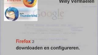 Mozilla Firefox installeren en gebruiken