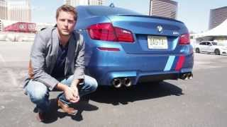 BMW F10 M5 M Performance Exhaust - exclusive first look and listen (1/2)