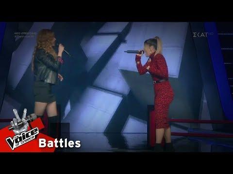 Παναγιώτα Βαρδιοπούλου vs Λία Γιαρλέλη - Piece of My Heart   3o Battle   The Voice of Greece