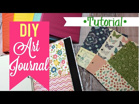 DIY Art Journal | Using mini binders