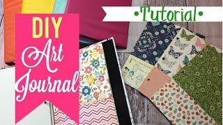 DIY Art Journal | Using mini binders