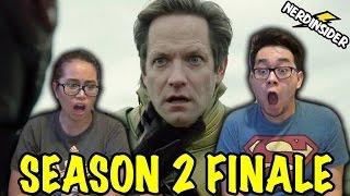 Legends Of Tomorrow Season 2 FINALE REVERSE-FLASH VS BLACK FLASH REACTION & REVIEW