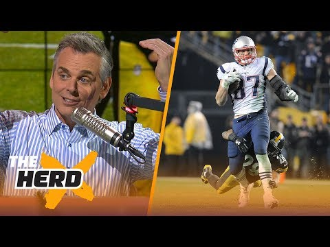 Colin Cowherd reacts to the Patriots' 27-24 win over the Steelers during Week 15 | THE HERD