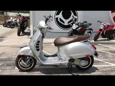 Pre-Owned  Vespa GTS  th Anniversary Edition at Euro Cycles of Tampa Bay
