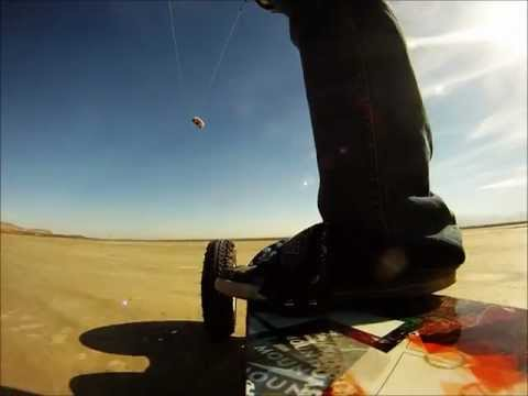 First Land Kiteboarding Experience