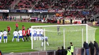 Gol R. Mallorca - R. Zaragoza. 1-0 De Guzmán '67
