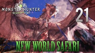 [21] New World Safari (Let's Play Monster Hunter: World [PS4 Pro] w/ GaLm)