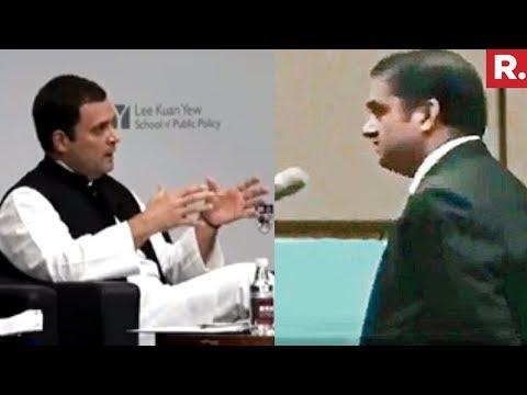 Prof PK Basu Confronts Rahul Gandhi   Video Goes Viral