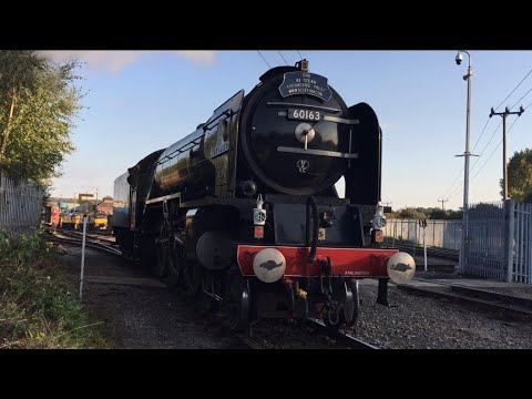 Barrow Hill Grand Reopening Gala Part 1 Arrivals Charter & Saturday 19th 21st 23rd September 2017