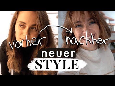 Haare abschneiden - Eine neue Frisur für Marie | MANDA Vlog