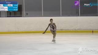 Аделия Петросян Произвольная программа Кубок Москвы по фигурному катанию на коньках 2020г