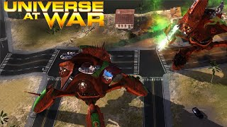 Creating Zombies with Walkers! - Universe at War: Earth Assault Multiplayer Gameplay